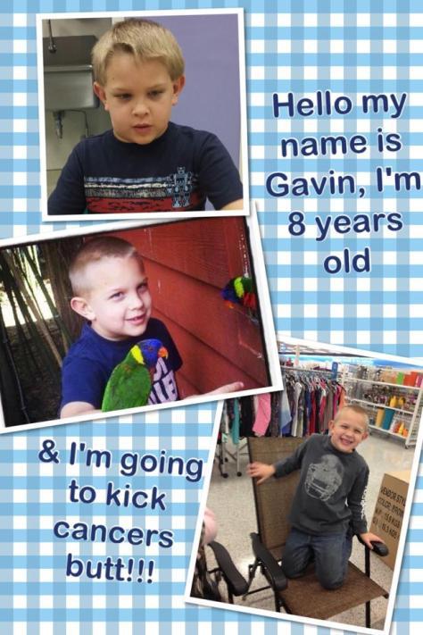 My Grandson Gavin